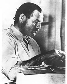 Ernest Hemingway's Top 9 Words of Wisdom