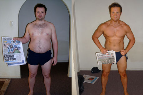 Transformation contests that craig holds a couple of times a year