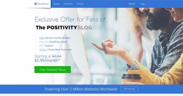 Bluehost exclusive offer