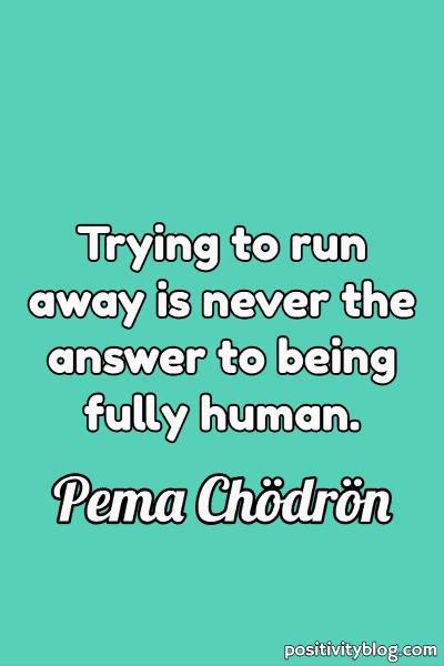 Courage Quote by Pema Chödrön