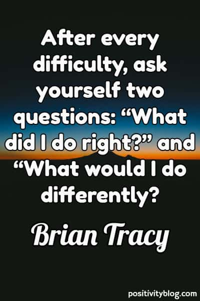Deep Quote by Brian Tracy