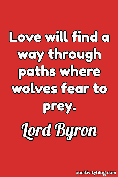 Deep Quote by Lord Byron