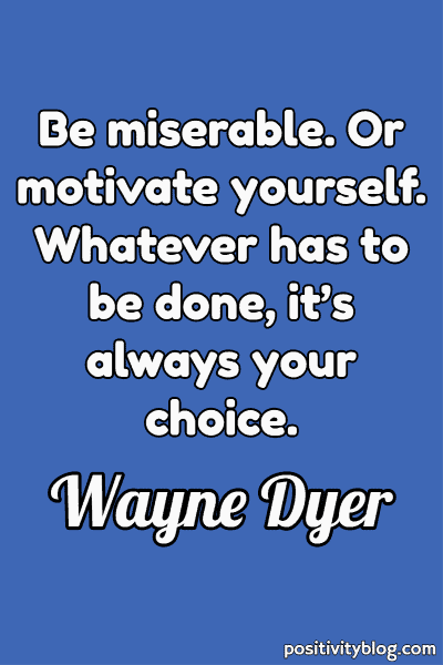Deep Quote by Wayne Dyer