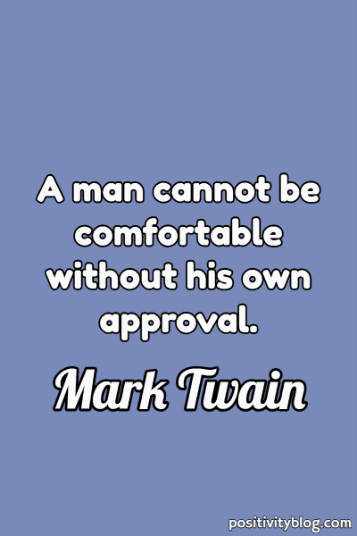 Deep Quote by Mark Twain