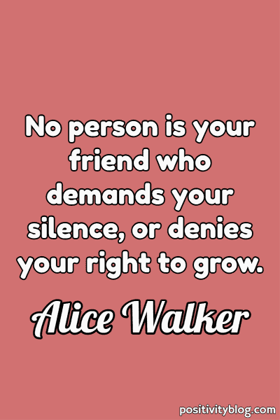Deep Quote by Alice Walker