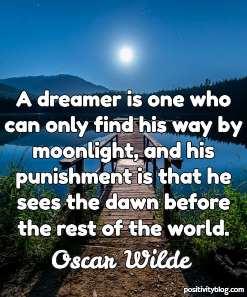 Quotes on Dreams by Oscar Wilde