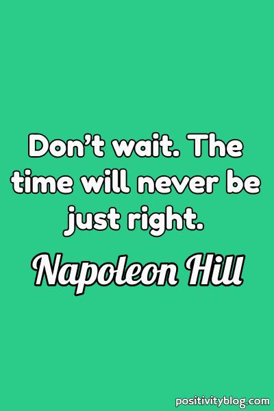 Dream Quote by Napoleon Hill