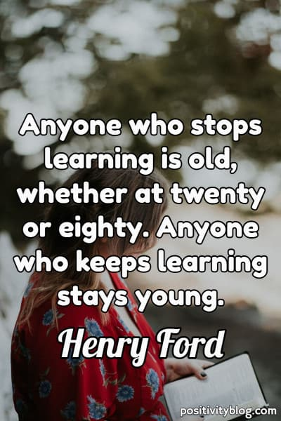 Education Quote by Henry Ford