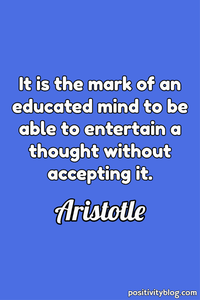 Education Quote by Aristotle
