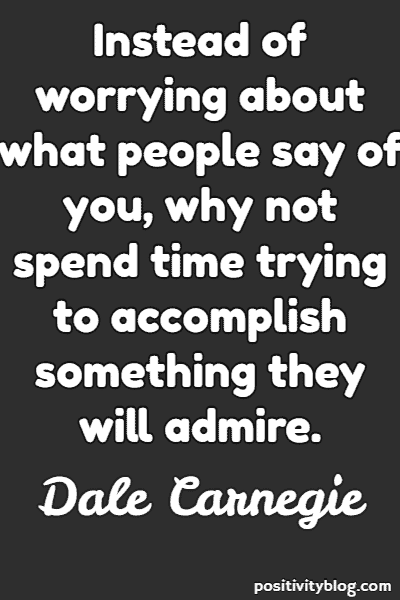 Fear Quote By Dale Carnegie