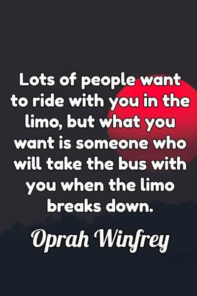 Friendship Quote by Oprah Winfrey