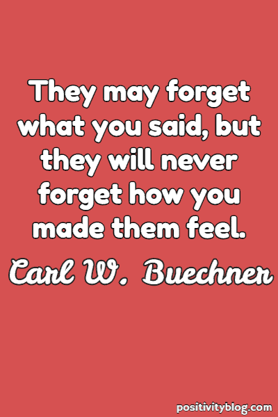 Friendship Quote by Carl W. Buechner