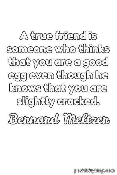 Friendship Quotes by Bernard Meltzer