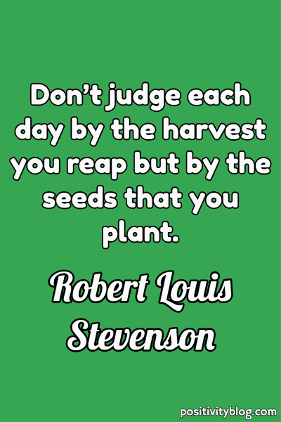 Good Morning Quote by Robert Louis Stevenson