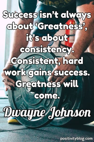 Good Morning Quote by Dwayne