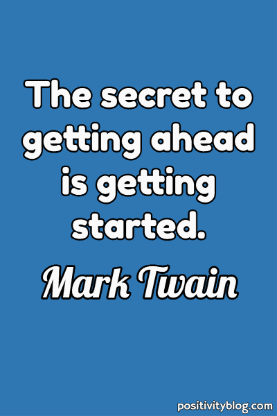 Good Morning Quote by Mark Twain