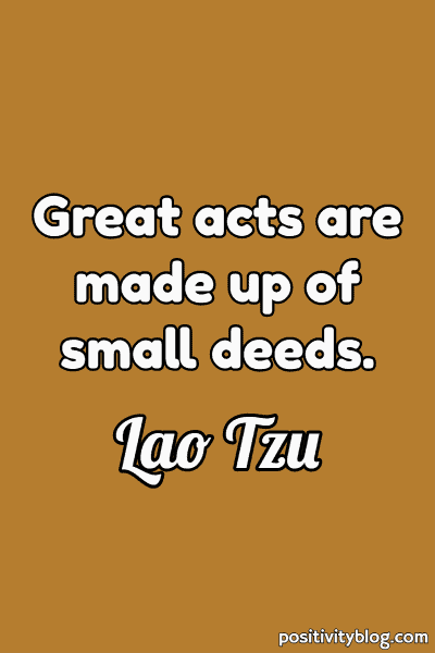 Good Morning Quote by Lao Tzu