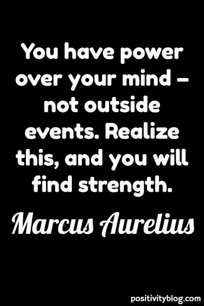Good Morning Quote by Marcus Aurelius