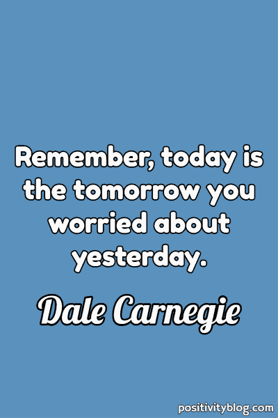 Happiness Quote by Dale Carnegie