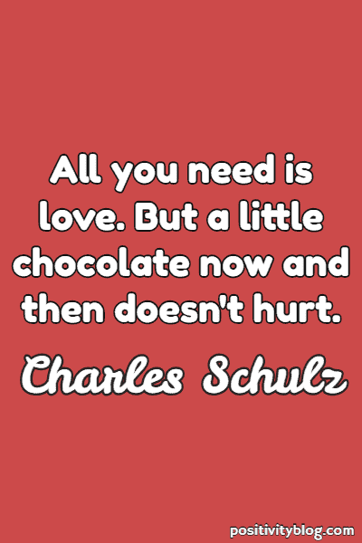 Love Quote by Charles Schultz