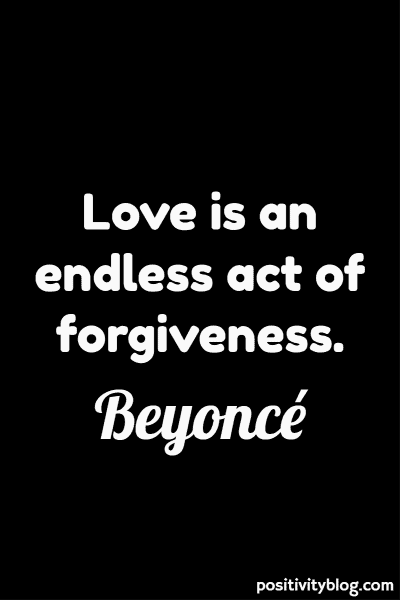 Love Quote by Beyonce