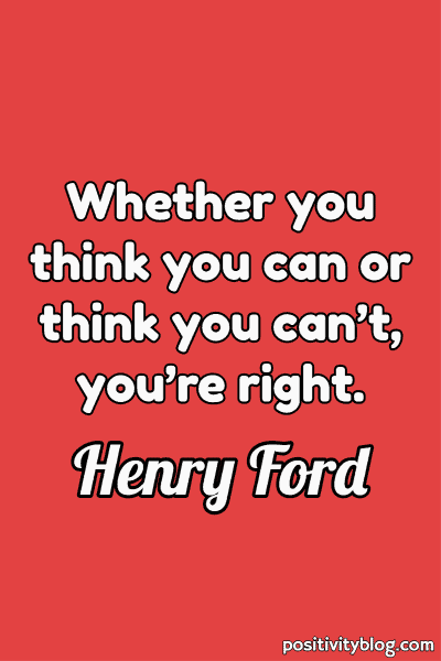 Monday Motivation Quote by Henry Ford