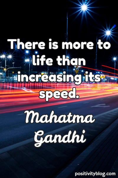 Monday Motivation Quote by Mahatma Gandhi