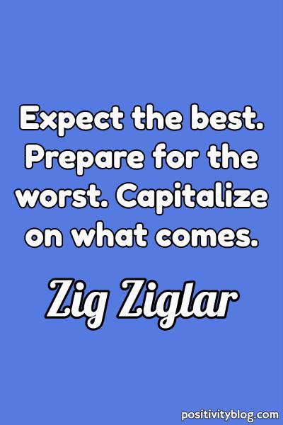 Money and Wealth Quote by Zig Ziglar