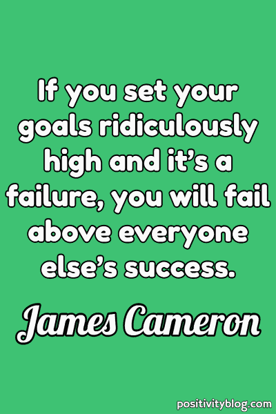 Never Give Up Quotes by James Cameron