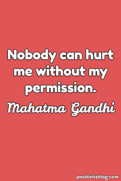 Relationship Quote by Mahatma Gandhi
