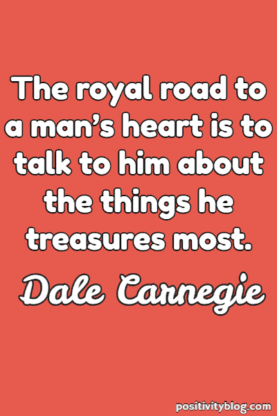 Relationship Quote by Dale Carnegie