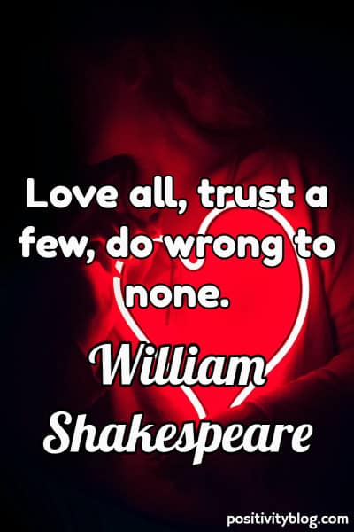 Relationship Quote by William Shakespeare
