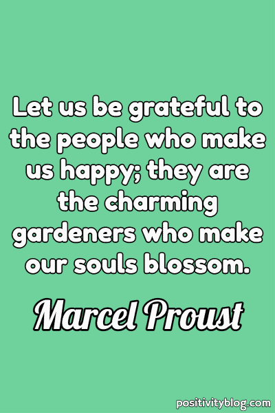 Relationship Quote by Marcel Proust
