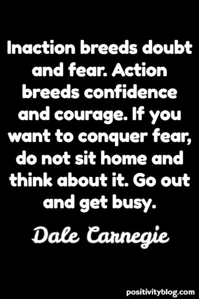 Self-Love Quote By Dale Carnegie