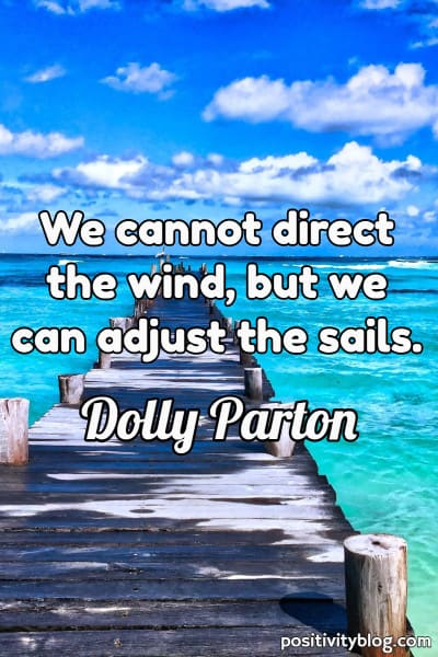 Self Care Quote by Dolly Parton