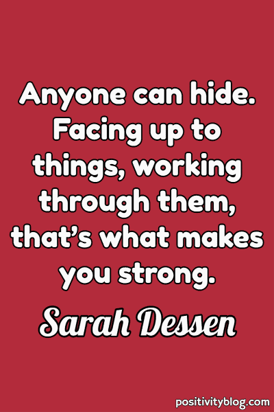 Short Quotes by Sarah Dessen