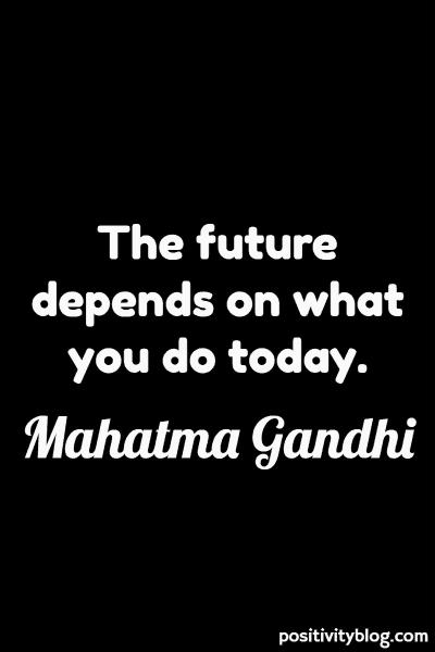 Short Quotes by Mahatma Gandhi
