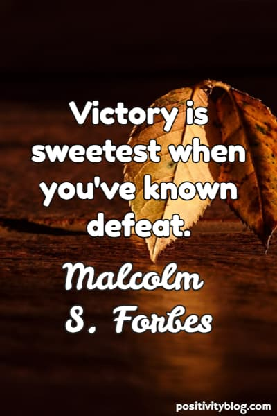 Short Quotes by Malcolm Forbes