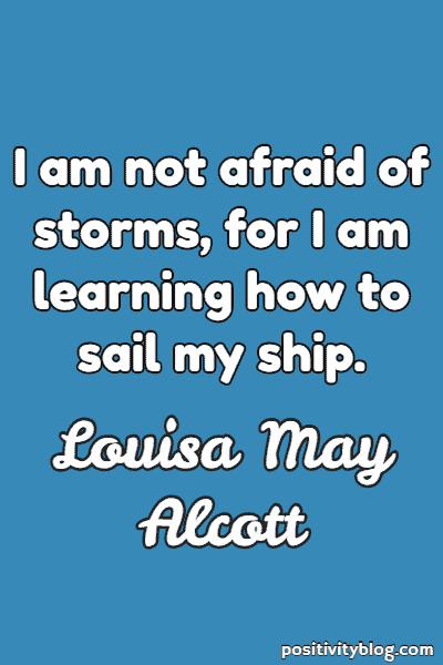 Stay Strong Quotes by Louisa May Alcott
