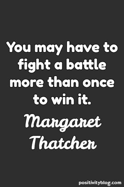 Stay Strong Quotes by Margaret Thatcher