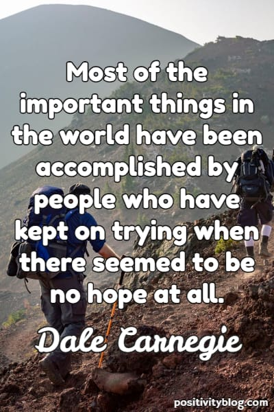 Stay Strong Quotes by Dale Carnegie