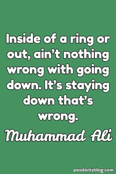 Stay Strong Quotes by Muhammad Ali
