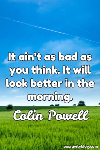 Stay Strong Quotes by Colin Powell