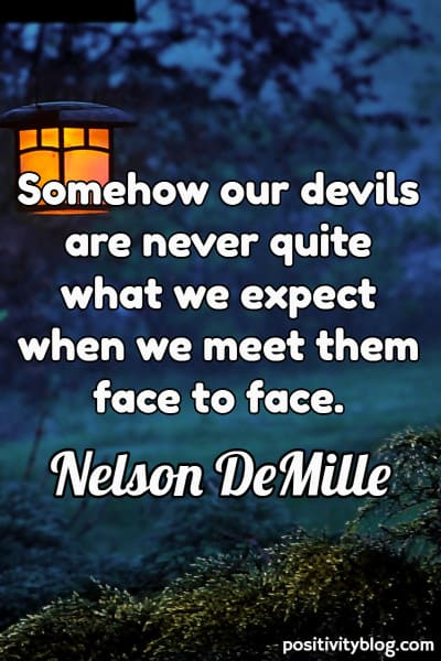 Quote on Stress by Nelson DeMille