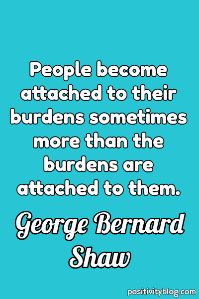 Quote on Stress by George Bernard Shaw