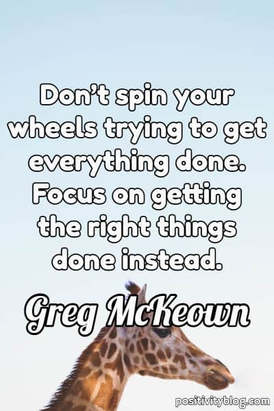 Quote on Stress by Greg McKeown