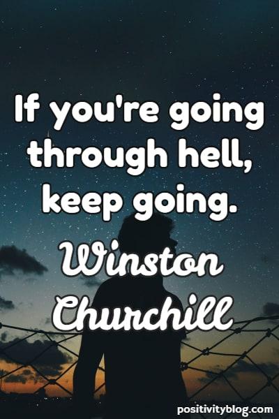 Success Quote by Winston Churchill