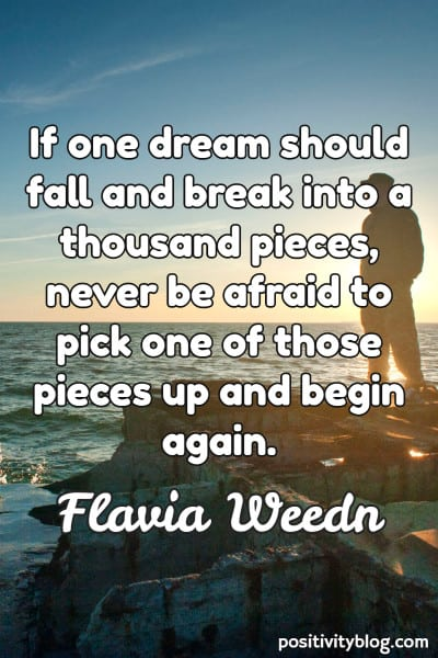 Word of Encouragement by Flavia Weedn