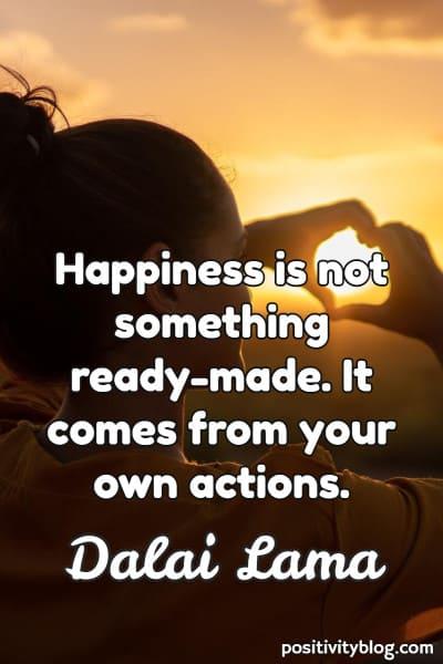 Word of Encouragement by Dalai Lama