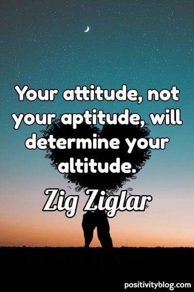 Word of Encouragement by Zig Ziglar